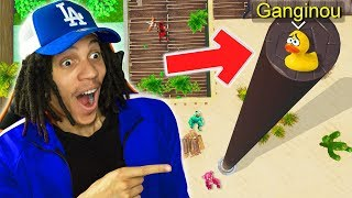 LA CACHETTE INTOUCHABLE ! (Prop Hunt Fortnite)