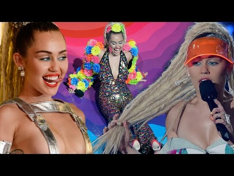8 Most WTF MIley Cyrus Moments from 2015 MTV VMA's