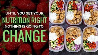 Best Way in the world  to start eating healthy in 2020 | NUTRITION101|