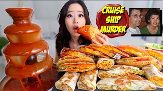 TACO BELL HOT SAUCE FOUNTAIN + TACOS & BURRITOS MUKBANG 먹방 | Eating Show