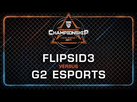 Flipsid3 Tactics vs G2 Esports - Rocket League Championship - DreamHack Atlanta 2017