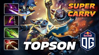 TOPSON TECHIES - Super Carry - Dota 2 Pro Gameplay [Watch & Learn]