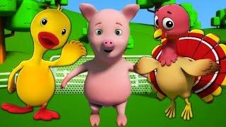 Rig a jig jig | Bài hát cho trẻ em | trẻ em vần | Trường mầm non Bài hát | Baby Song | Kids Learning