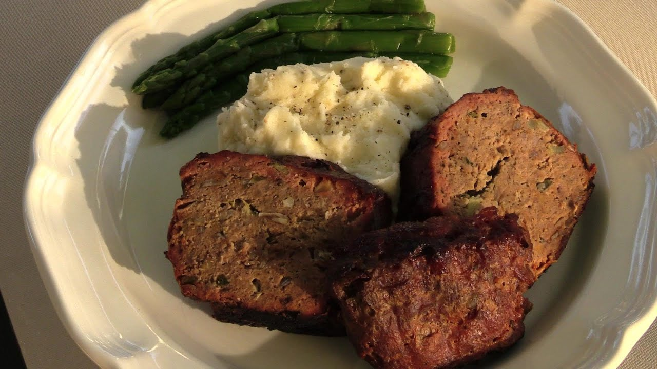 Homemade Meatloaf Recipe From 1960 S Youtube
