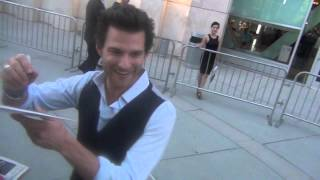 Johnny Whitworth Greets Fans at The Words Premiere in Hollywood!