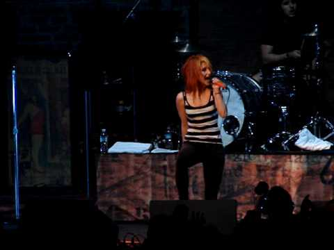 Paramore - Pressure - Live at the Comcast Center - June 20, 2009