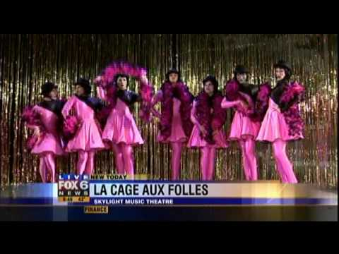 """LA CAGE AUX FOLLES"" Closing Number Preview on Fox 6 WakeUp"