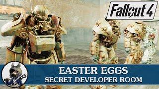 FALLOUT 4 Easter Eggs - Secret Developer Room