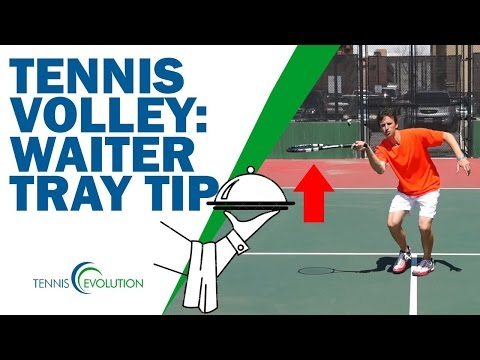 TENNIS VOLLEY TIPS | Rafter Waiter Tray Tip On Tennis Volley