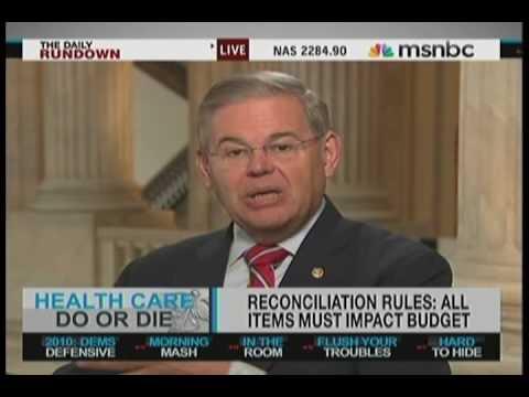 Senator Robert Menendez Discusses Healthcare Reform