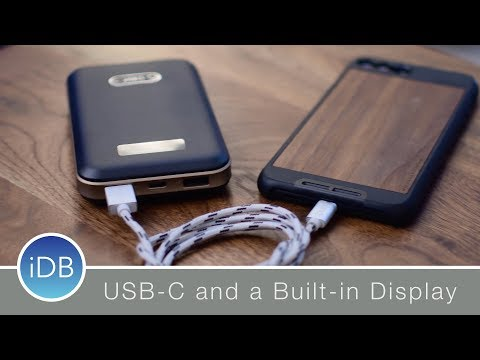 Orico SCharger Power Bank is USB-C Enabled with a Built in Screen