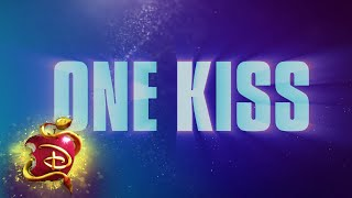 One Kiss 💋| Lyric Video  | Descendants 3