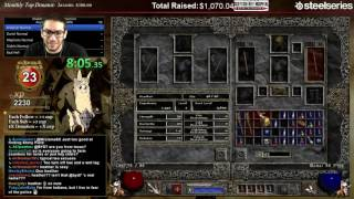 Diablo 2 - 8 Man HELL 100% Speedrun!!!!