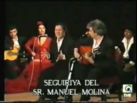 Carmen Linares y Paco Cortes por Siguirillas.