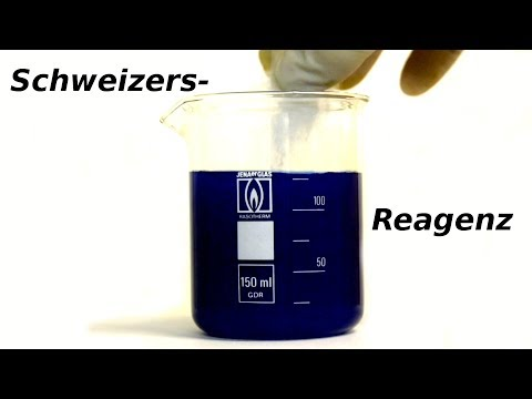 Schweizer Reagenz herstellen | Baumwolle auflösen