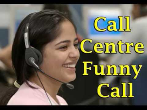 Funny call center call in hindi