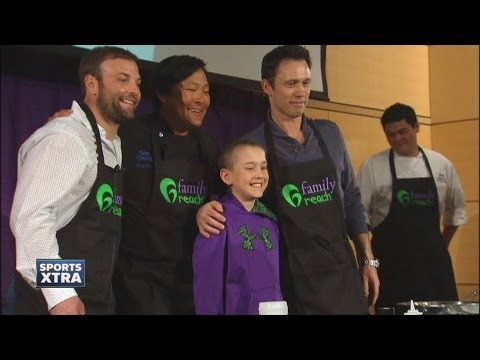 Wes Welker, other celebrities welcome Family Reach to Denver