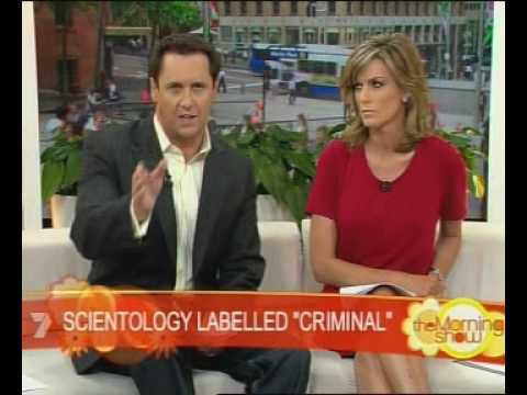 SCIENTOLOGY LABELLED CRIMINAL IN AUSTRALIA news today morning
