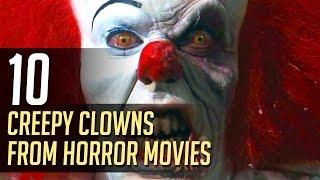 10 Creepy Clowns from Horror Movies