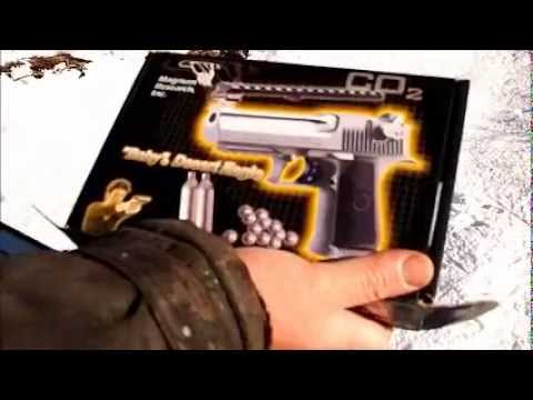 пистолет Baby Desert Eagle.wmv