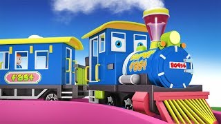Thomas Train - Choo Choo Train - Cartoon Cartoon - Toy Factory Train - Cars for Kids