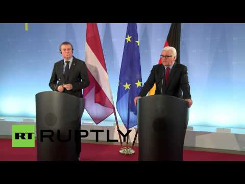 Germany: 'A sustained attack on Mariupol will change our policy' - Steinmeier