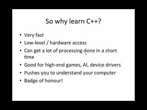 C++Tutorial for Beginners 1 - Introduction | c programming | basic programming language