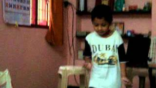 Dance practice from tamil movie singam at home