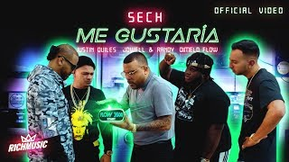 Sech - Me Gustaria Ft.Justin Quiles, Jowell y Randy, Dimelo Flow  [Video Oficial]