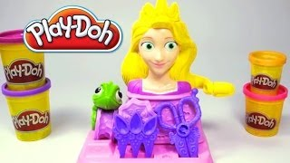Play Doh Rapunzel Disney Princess Playset playdo by Unboxingsurpriseegg