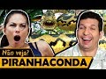 PIRANHACONDA   Os Piores Filmes Do Mundo