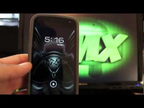 Galaxy Nexus Paranoid Android Rom Hybrid Tablet OS [FULL REVIEW] Install