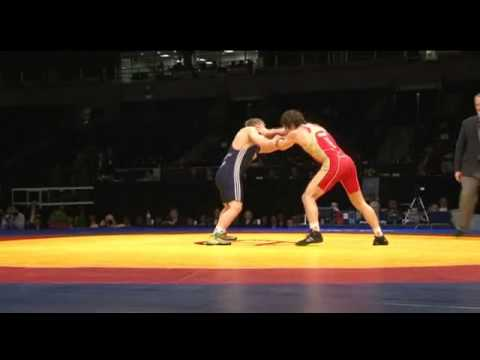 Царгуш-Хуцишвили 74 кг Чемпионат Европы 2012 финал