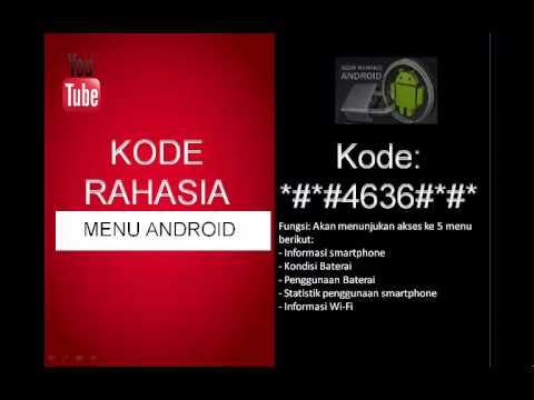 Kode Rahasia Android Buat Servis HP Lengkap - Rahasia ID