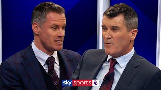 Roy Keane & Jamie Carragher have HEATED argument over Ole Gunnar Solskjær!