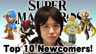 Top 10 Newcomers I'd Like to See in Super Smash Brothers Ultimate!