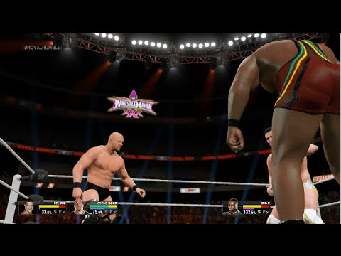 Wwe 2k15 Xbox One - Royal Rumble Match (ft. Stone Cold, Cm Punk & More!) video