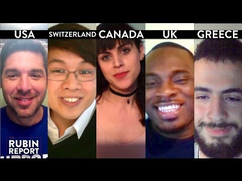Rubin Report Fan Show: Canada, United Kingdom, USA, Switzerland, Greece (2)