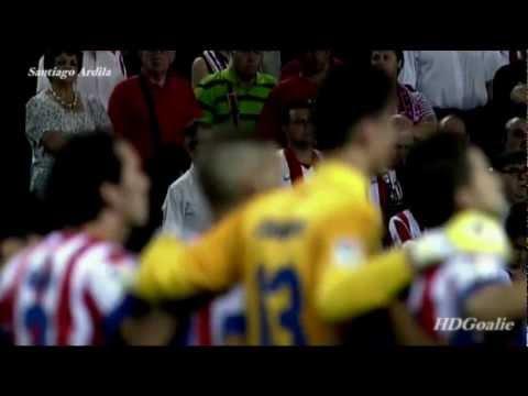 Thibaut Courtois | Gracias de Parte de Atletico Madrid [HD]