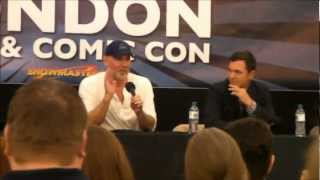 London Film & Comic Con 2012: X Files Talk with Mitch Pileggi and Nicholas Lea
