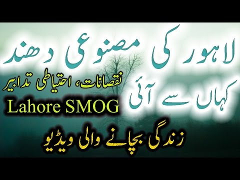 Smog Information Urdu Hindi Lahore Smog Health Video