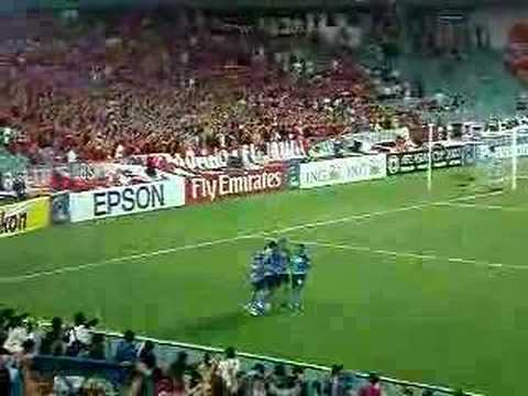 Ufuk Talay converts the penalty won by David Carney for Sydney FC against Urawa Red Diamonds in the Asian Champions League. The goal put Sydney 2-0 ahead in ...