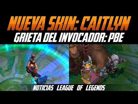 Nueva Skin | Caitlyn Cazadora de Cabezas // PBE: Grieta del invocador