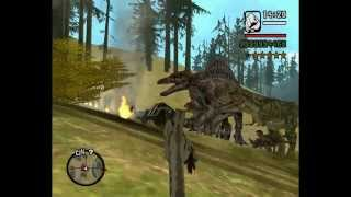 Gta San Andreas - Dinosaur And King Kong  ...