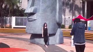 台南景點 石來運轉 巨型摩艾🗿在台南