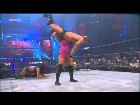 TNA Impact Wrestling 11/08/12 - Tara & Jesse vs ODB - Handicap Match