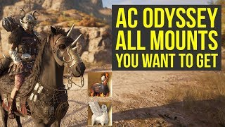 Assassin's Creed Odyssey Mounts - ALL BEST HORSES & How To Get Them (AC Odyssey Mounts)