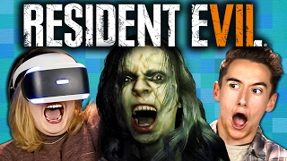 RESIDENT EVIL 7 (Teens React: Gaming)