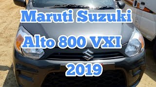 Maruti Suzuki Alto 800 VXI 2019 real review interior and exterior features