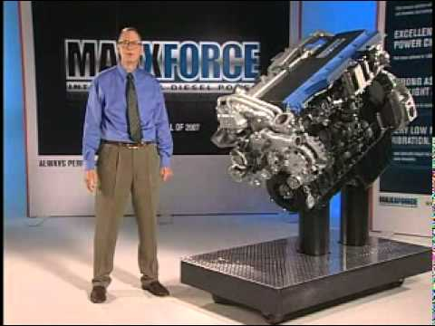 Navistar MaxxForce Big Bore Diesel Engine Overview 01 of 03